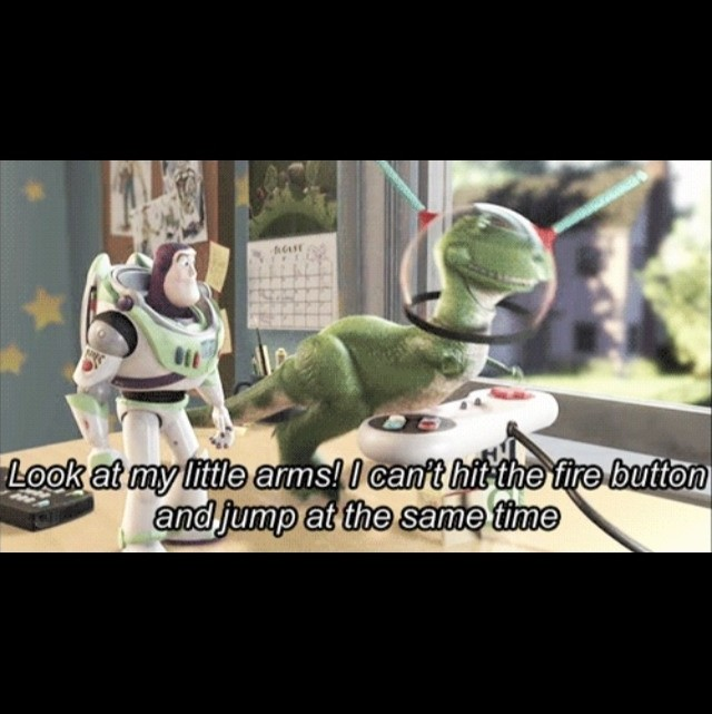 Rex Toy Story Funny Quote 1 Picture Quote #1