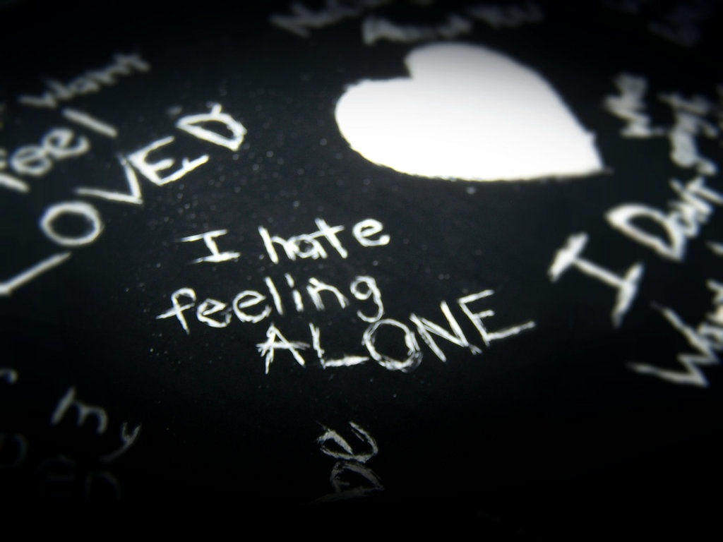 I Hate Feeling Lonely Quote 3 Picture Quote #1