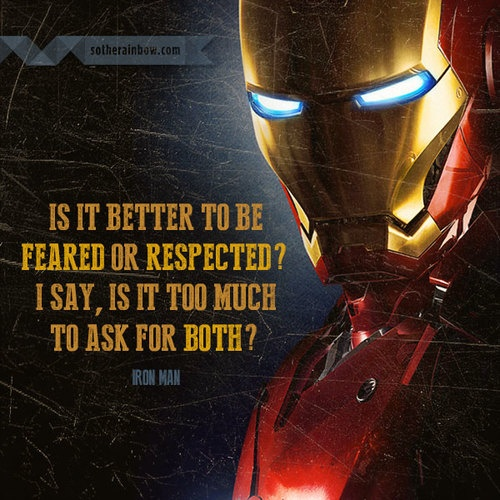 Iron Man Quote 10 Picture Quote #1