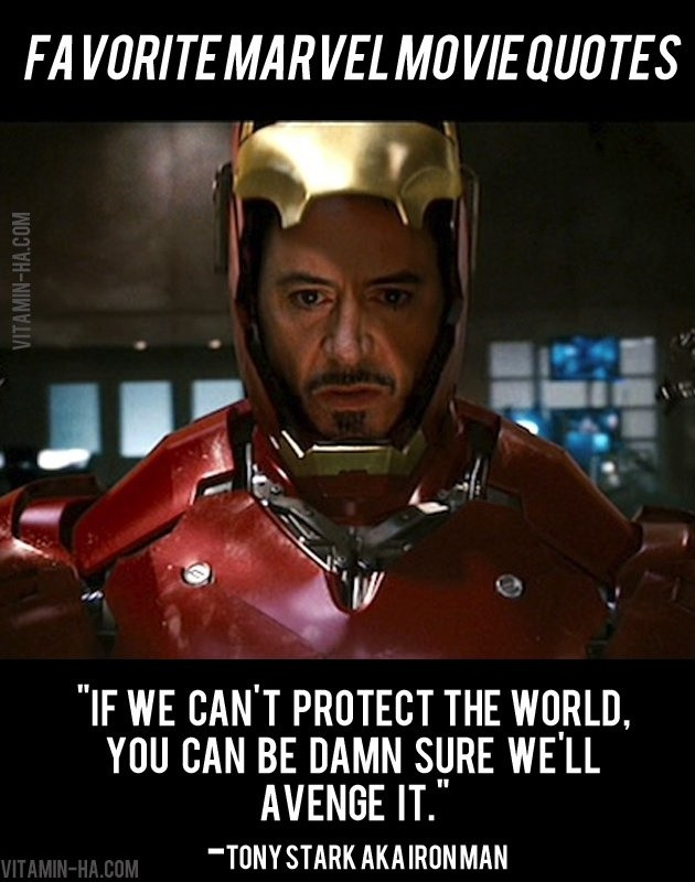 Iron Man Quote 17 Picture Quote #1