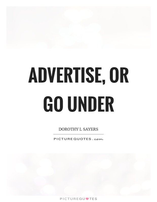 Advertise, or go under Picture Quote #1