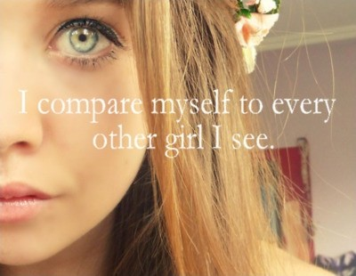 Insecure Quote For Teenage Girls 1 Picture Quote #1
