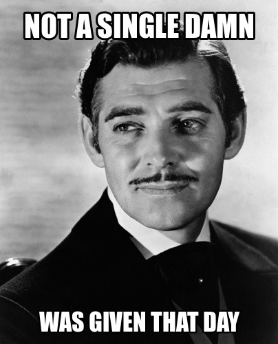Gone With The Wind Funny Quote 1 Picture Quote #1