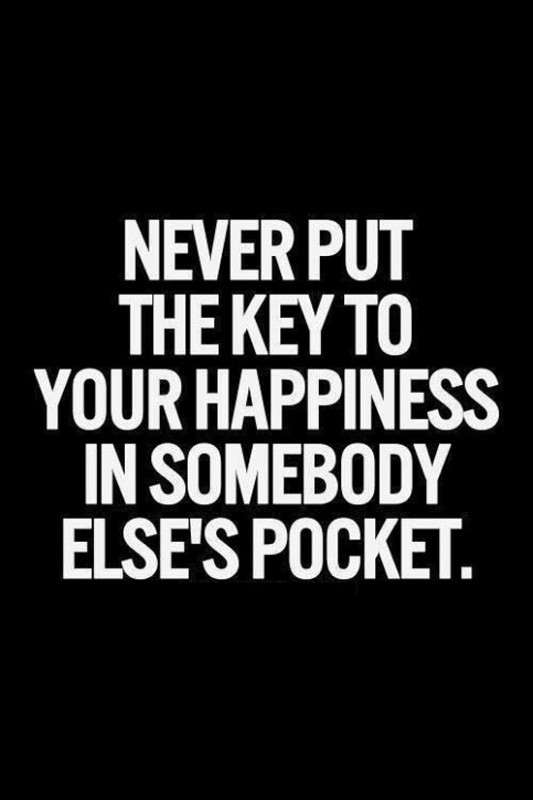 Keys To Being Happy Quote 1 Picture Quote #1