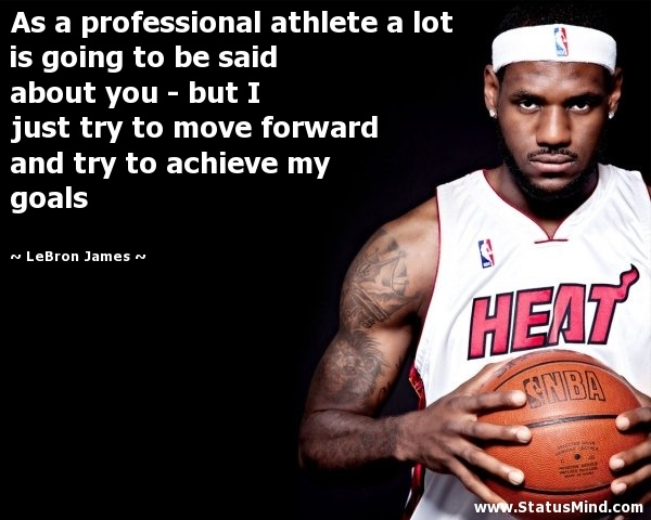 Professional Athlete Quote 1 Picture Quote #1