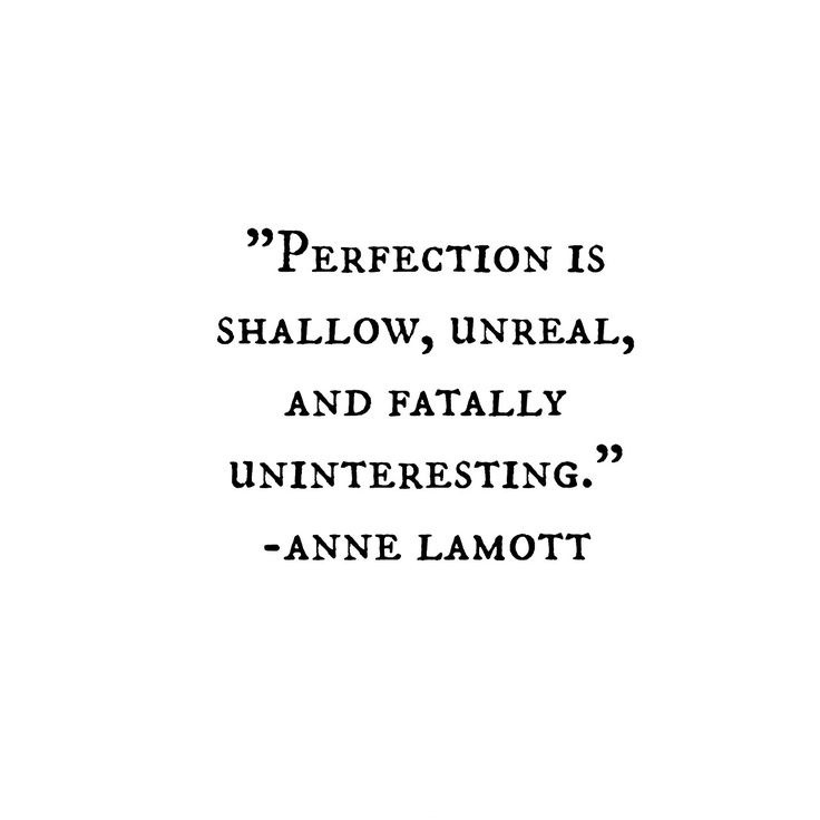 Striving For Perfection Quote 1 Picture Quote #1