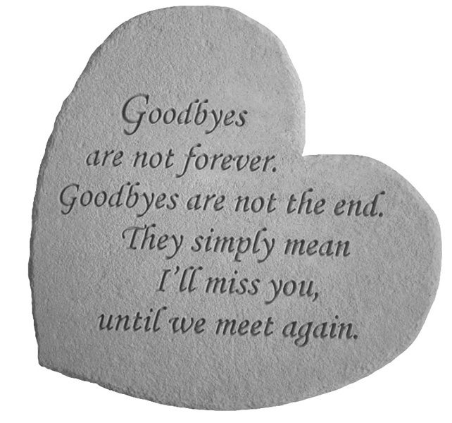 Saying Goodbye Quote 5 Picture Quote #1
