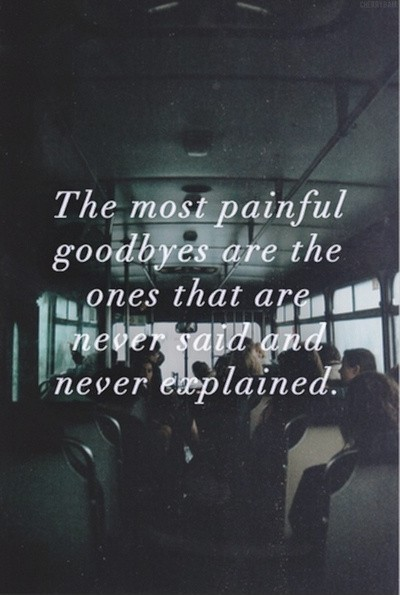 Saying Goodbye Quote 6 Picture Quote #1