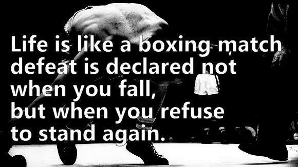 Motivational Boxing Quote 1 Picture Quote #1