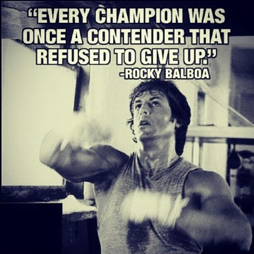 Rocky Boxing Quote 2 Picture Quote #1