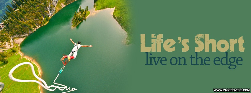 Quote About Living Life On The Edge 1 Picture Quote #1