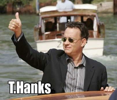T.Hanks Picture Quote #1