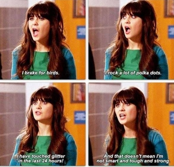 New Girl Quote | Quote Number 605324 | Picture Quotes