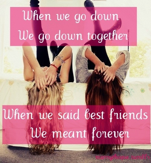 Cute Best Friends Forever Quote 4 Picture Quote #1