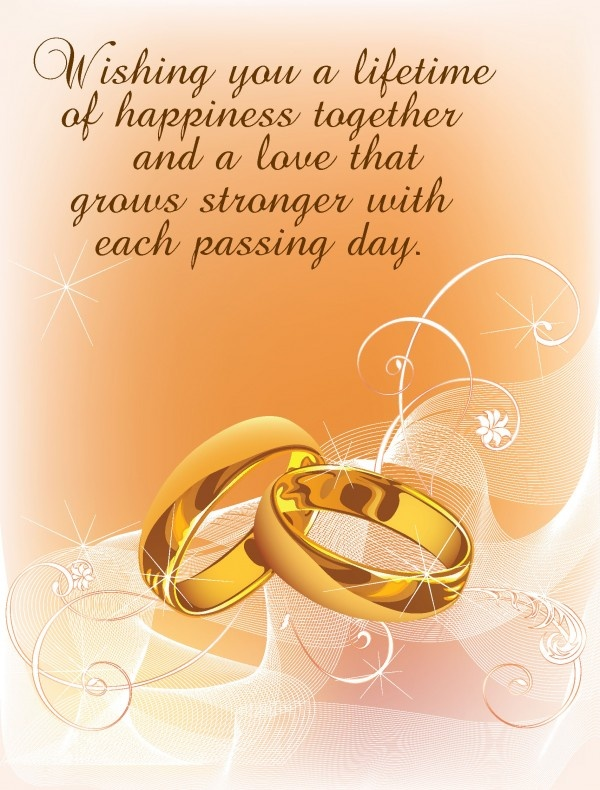 Wedding Wishes Quote 5 Picture Quote #1