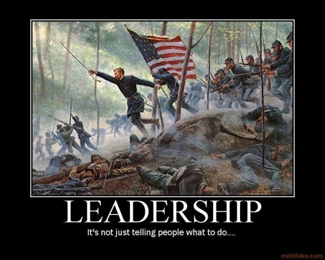 Leadership - it's not just telling people what to do Picture Quote #1