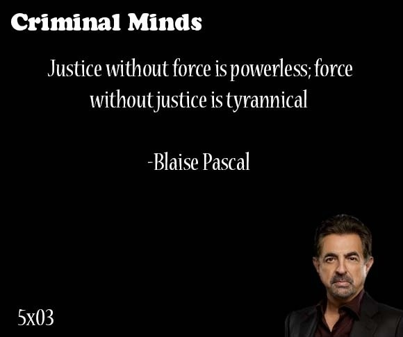 Criminal Justice Quote 2 Picture Quote #1
