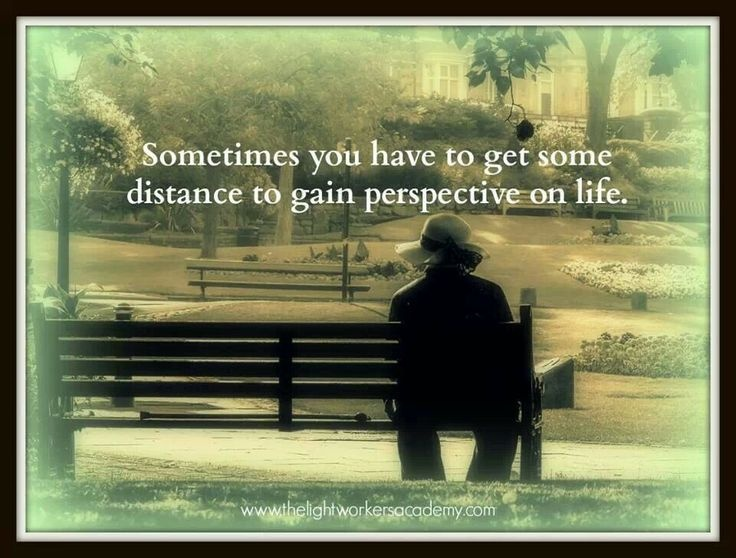 Gaining Perspective Quote 1 Picture Quote #1