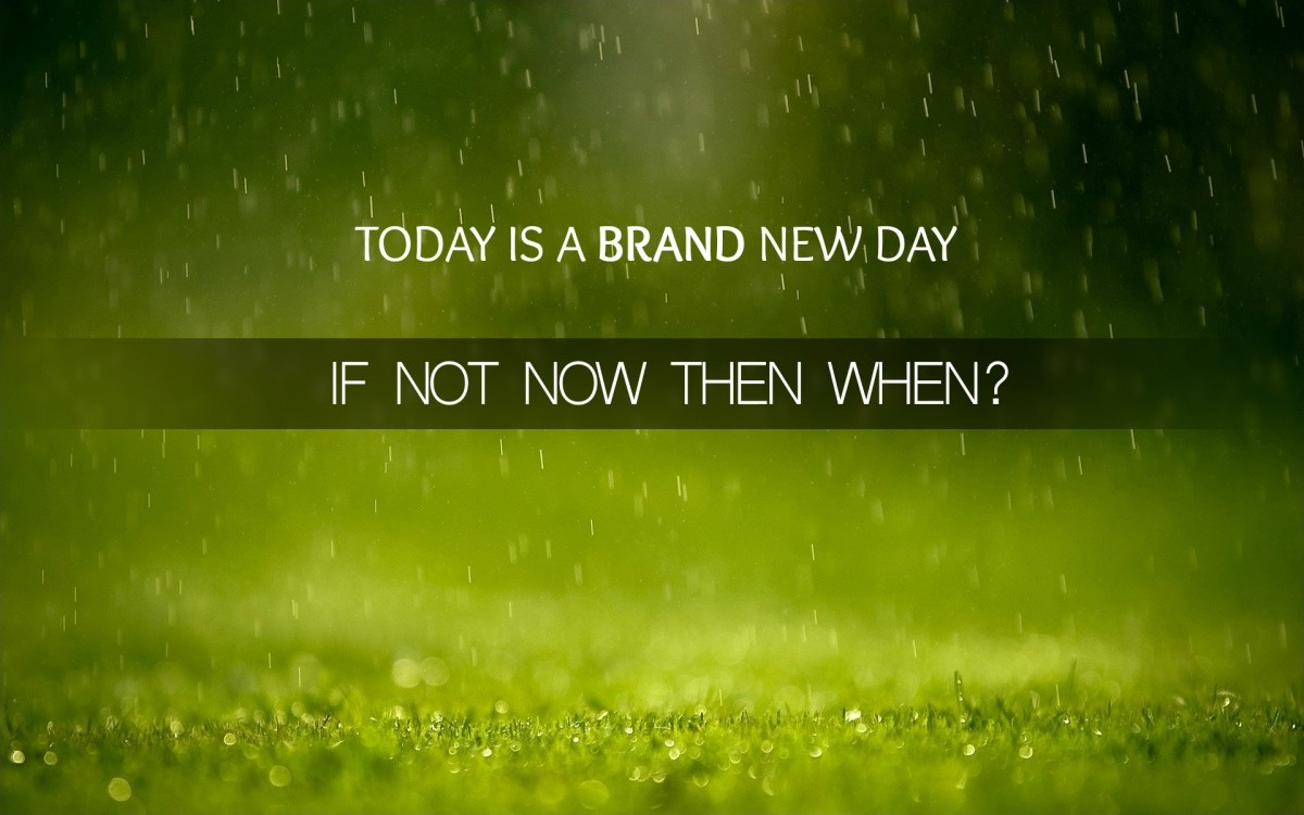 A Brand New Day Quote 1 Picture Quote #1
