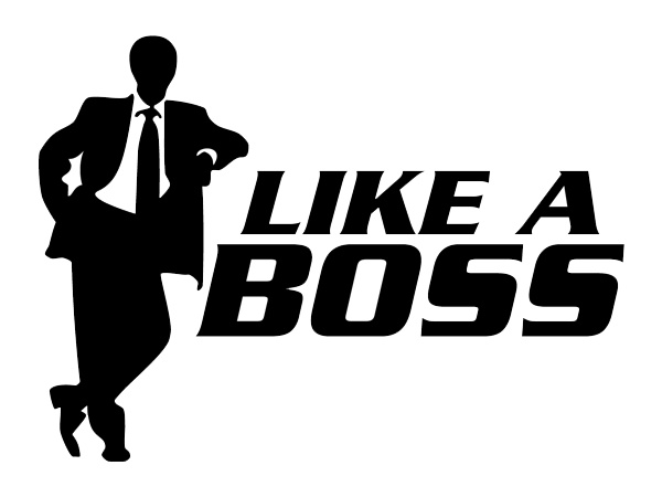 Like A Boss Quote 1 Picture Quote #1