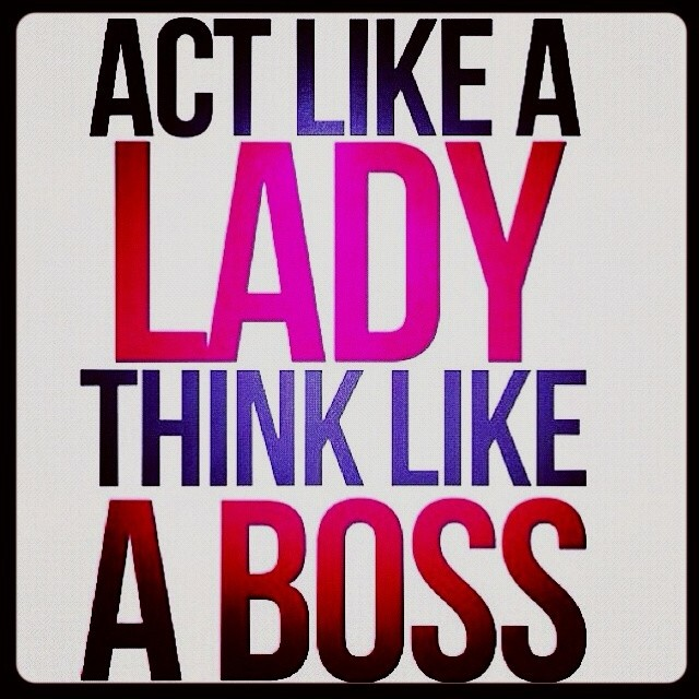 Think Like A Boss Quote 1 Picture Quote #1