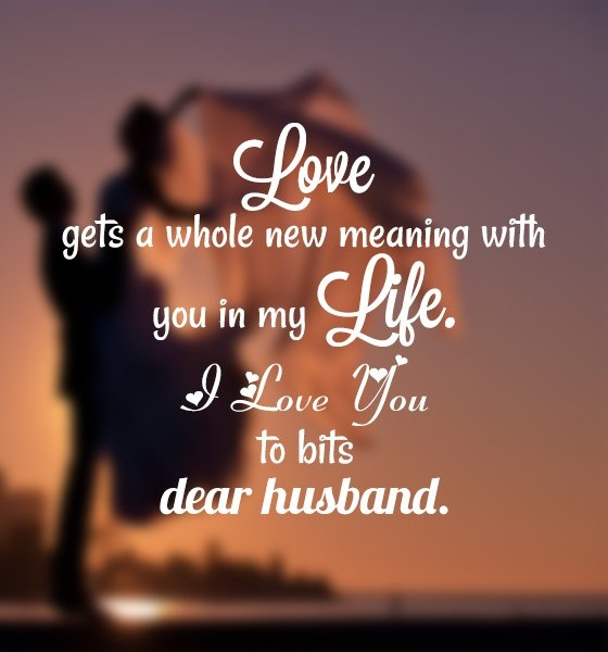 Love Quote For Husband 1 Picture Quote #1