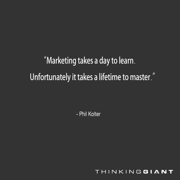 Great Marketing Quote 2 Picture Quote #1