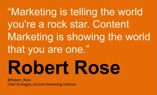 Content Marketing Quote 3 Picture Quote #1
