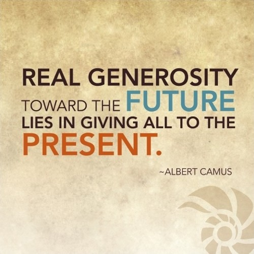 Quotes On Giving Back: Generosity Sayings