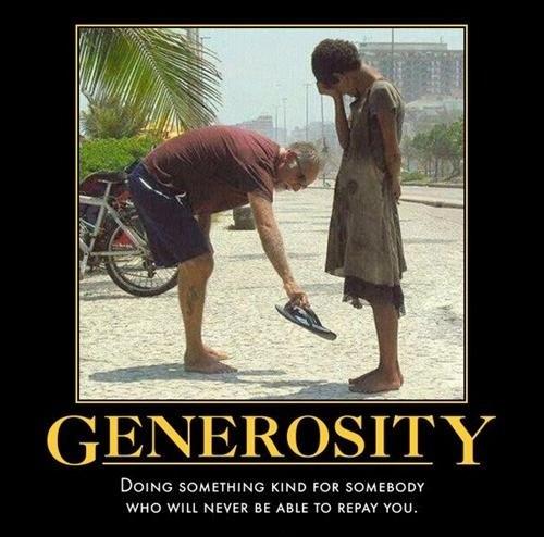 Generosity Quote 2 Picture Quote #1