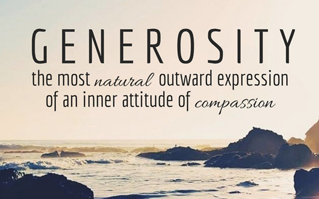Generosity Quote 4 Picture Quote #1
