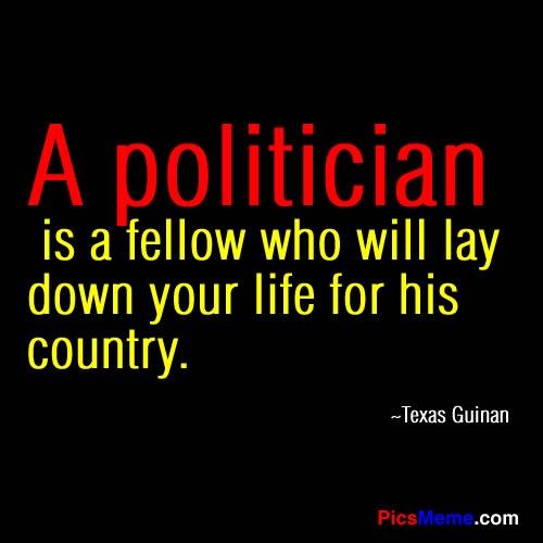 Political Quote 3 Picture Quote #1