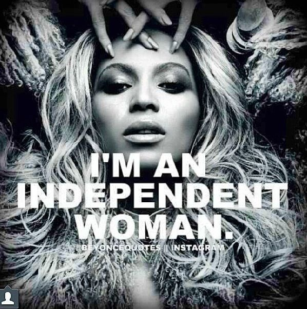 Confident And Independent Women Quote 1 Picture Quote #1