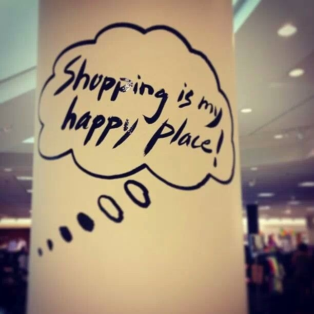 I Love Shopping Quote 1 Picture Quote #1