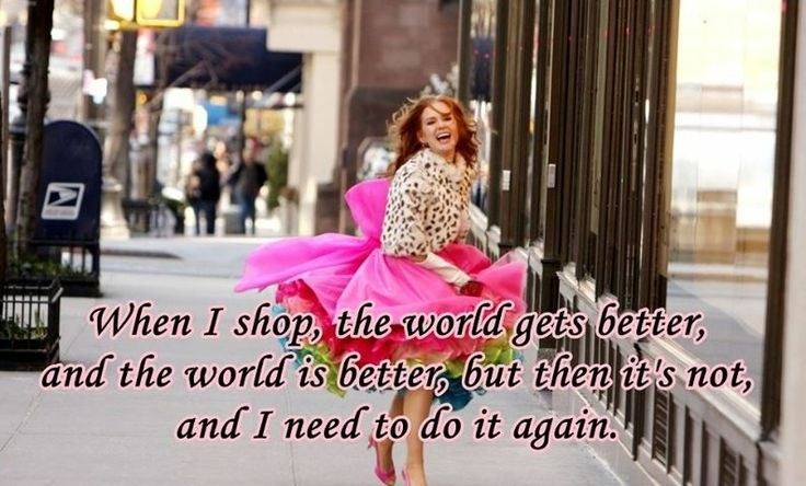 Addicted To Shopping Quote 2 Picture Quote #1
