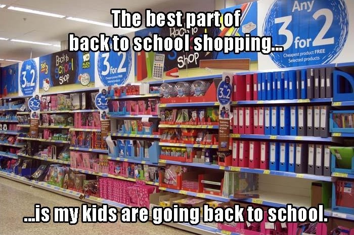 Back To School Shopping Quote 1 Picture Quote #1