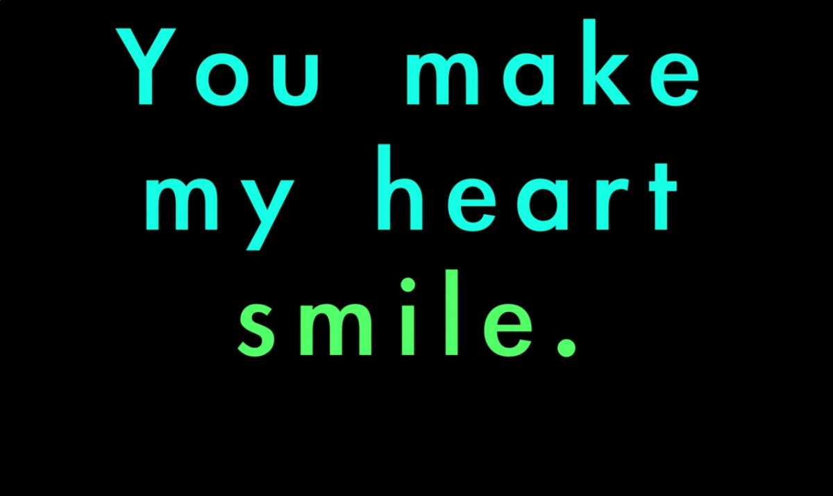 You Make Me Smile Quote 5 Picture Quote #1