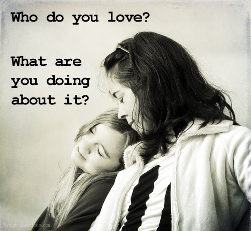 Thought Provoking Quote On Love 1 Picture Quote #1