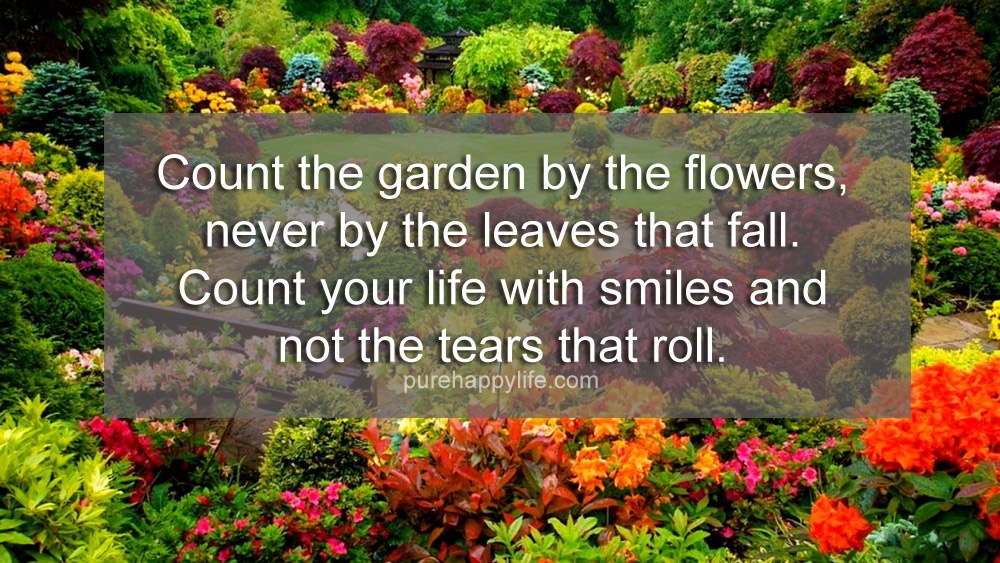 Inspirational Garden Quote 1 Picture Quote #1