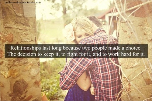 Decision Quote About Relationship 1 Picture Quote #1