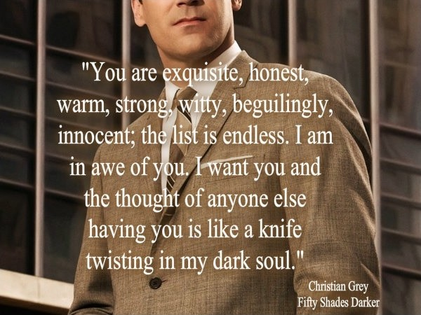 Christian Grey Quote Fifty Shades 2 Picture Quote #1