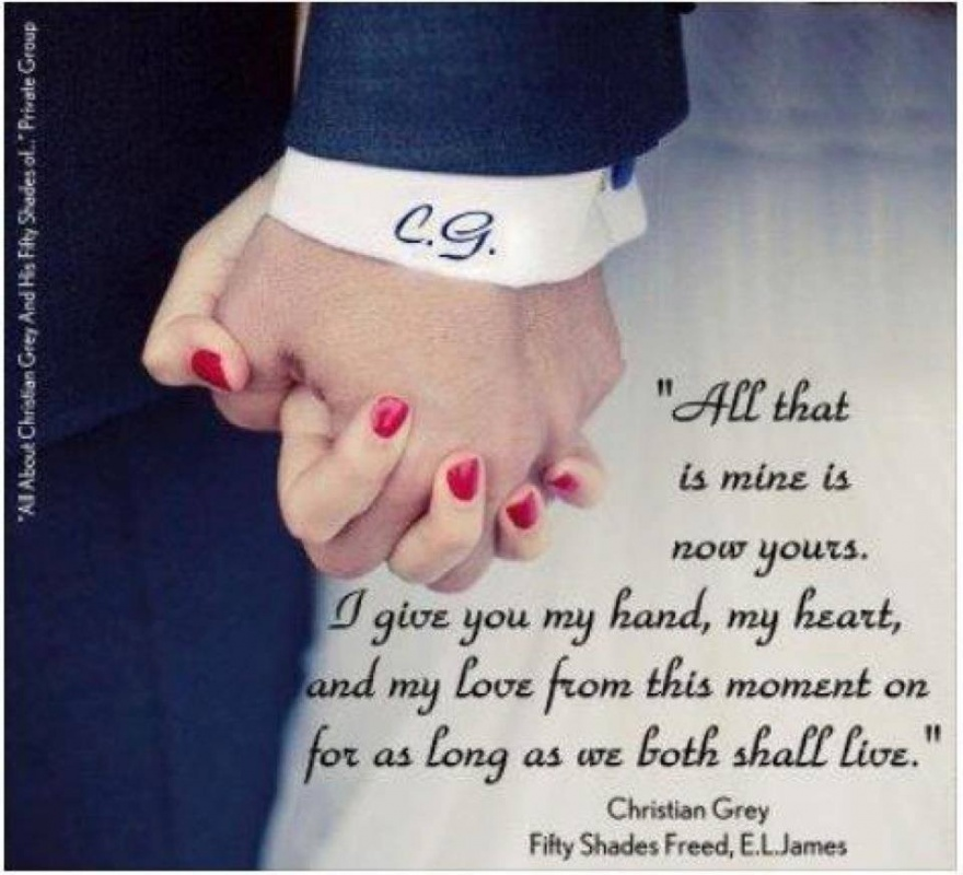 Christian Grey Quote Fifty Shades 9 Picture Quote #1