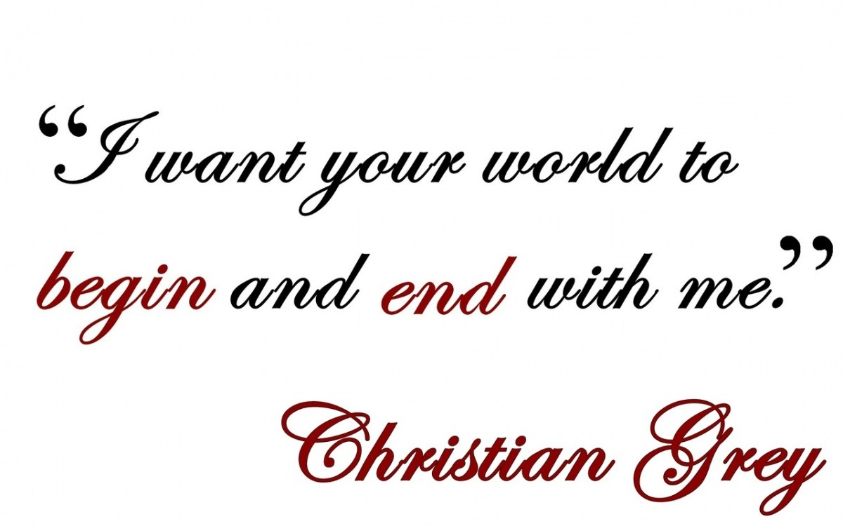 Christian Grey Quote 12 Picture Quote #1
