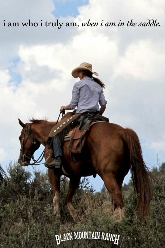 Cowgirl Quote About Horses 1 Picture Quote #1