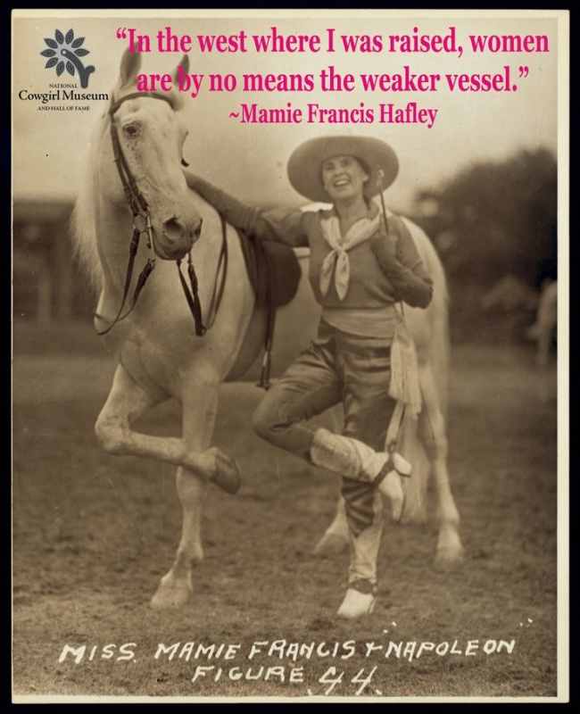 Great Cowgirl Quote 1 Picture Quote #1