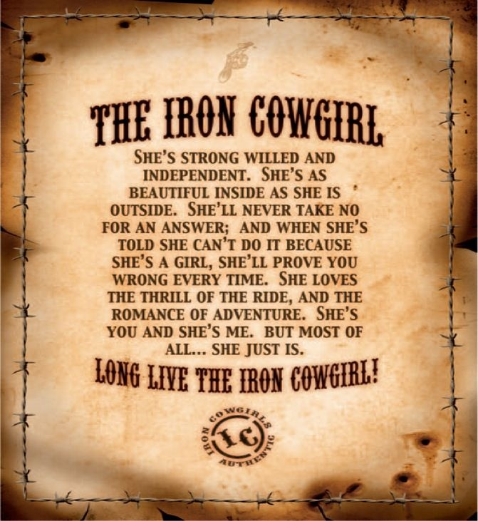 Cowgirl Quote 17 Picture Quote #1