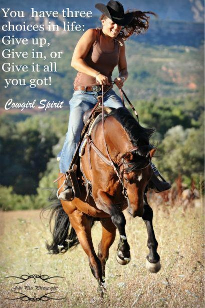 Cowgirl Quote 24 Picture Quote #1