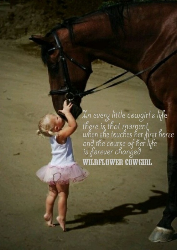 Little Cowgirl Quote 1 Picture Quote #1