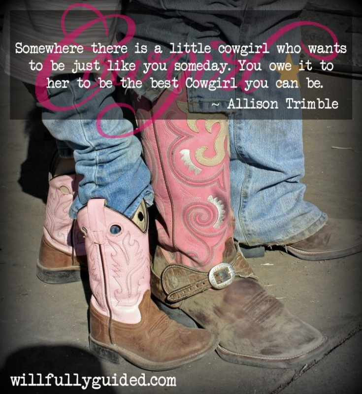 Little Cowgirl Quote 2 Picture Quote #1