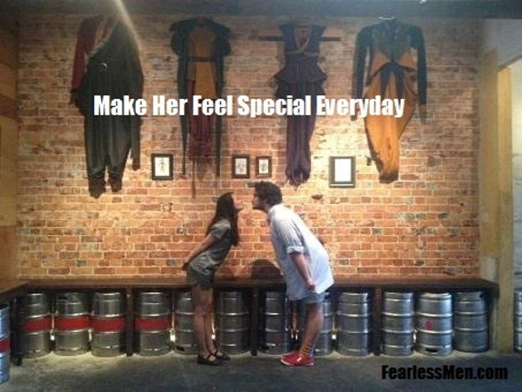 Make Her Feel Special Quote 1 Picture Quote #1